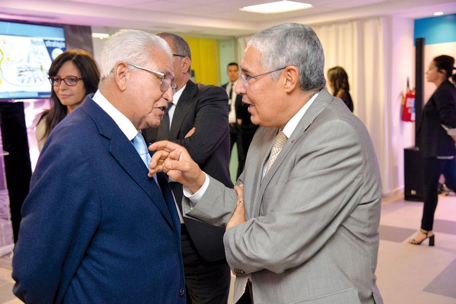 Abdellatif El Guerraoui et Mohamed El Kettani