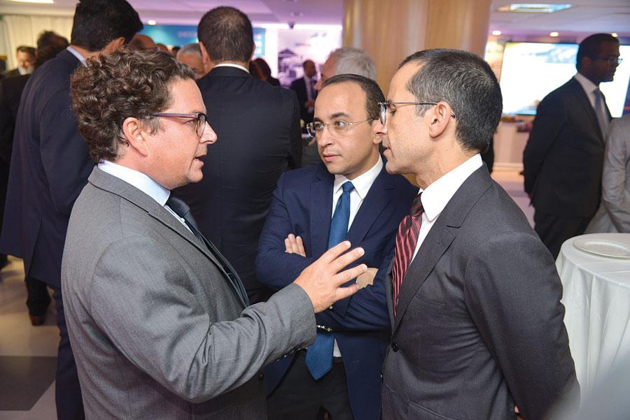 Lahlou Yassine, Badr Alioua et Youssef Rouissi
