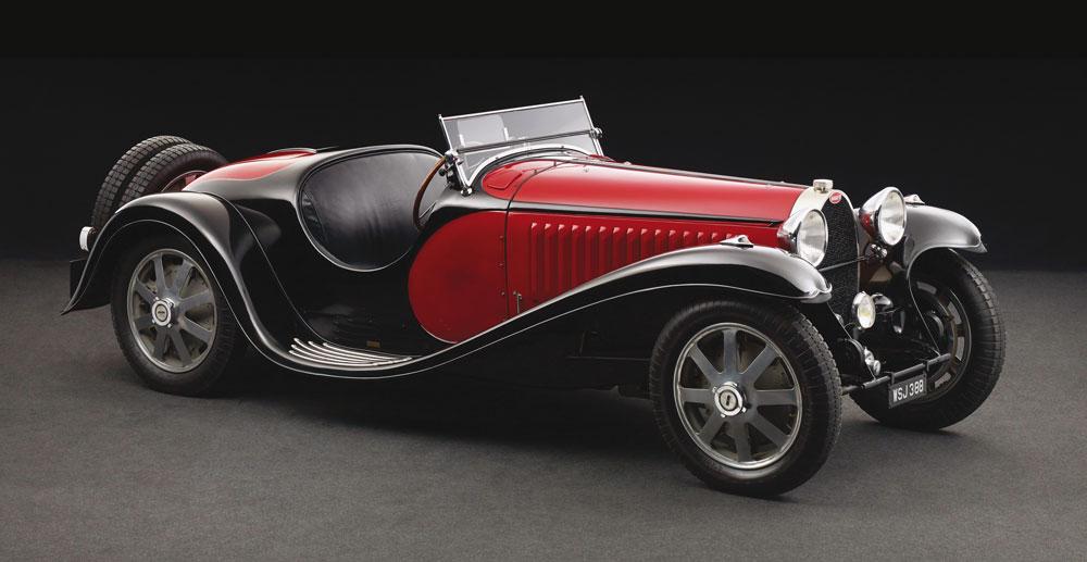Bugatti Type 55 Roadster de 1933.
