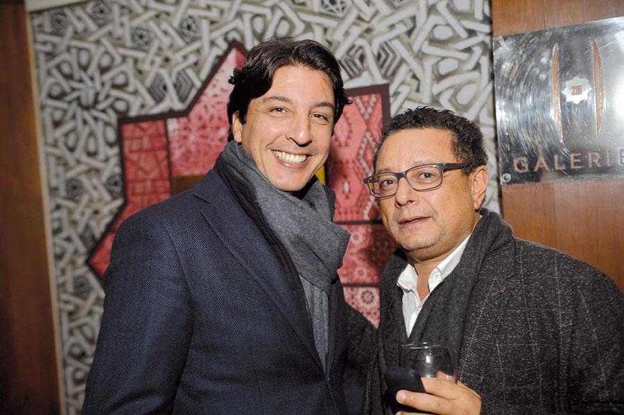 El Ghali Chaoui et Moncef Lahlou