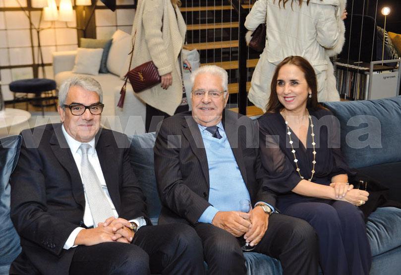Youssef Berrada Sounni, Abdelali Berrada Sounni et Asma Kadiri Hassani