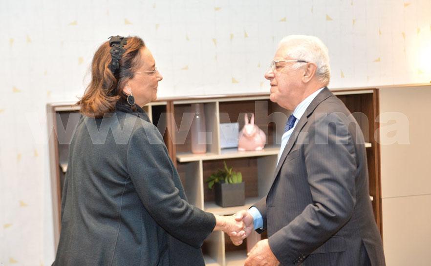 Saïda Karim Lamrani et Abdelali Berrada Sounni