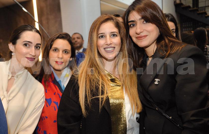 Houria Chrabi, Zineb Bennis et Loubna Jalal