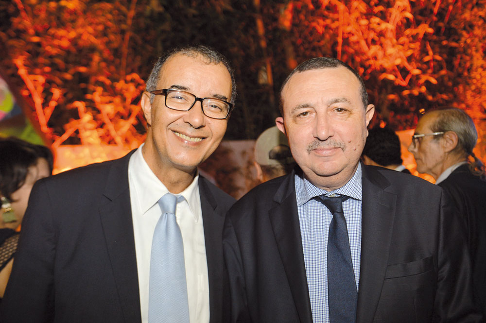 Fouad Douiri et Amine Cherkaoui