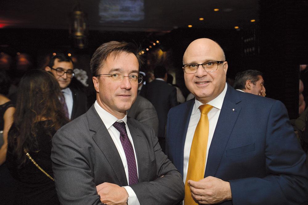 Arnaud de Sury Consul Général de France à Casablanca, Marc Nassif