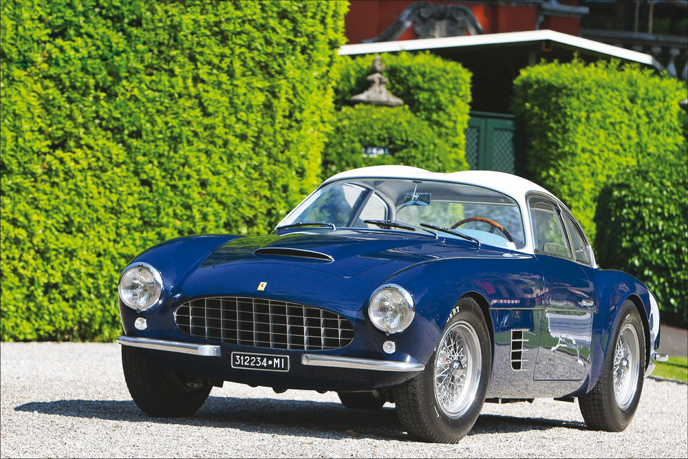 Ferrari 250 GT Coupé de 1956.