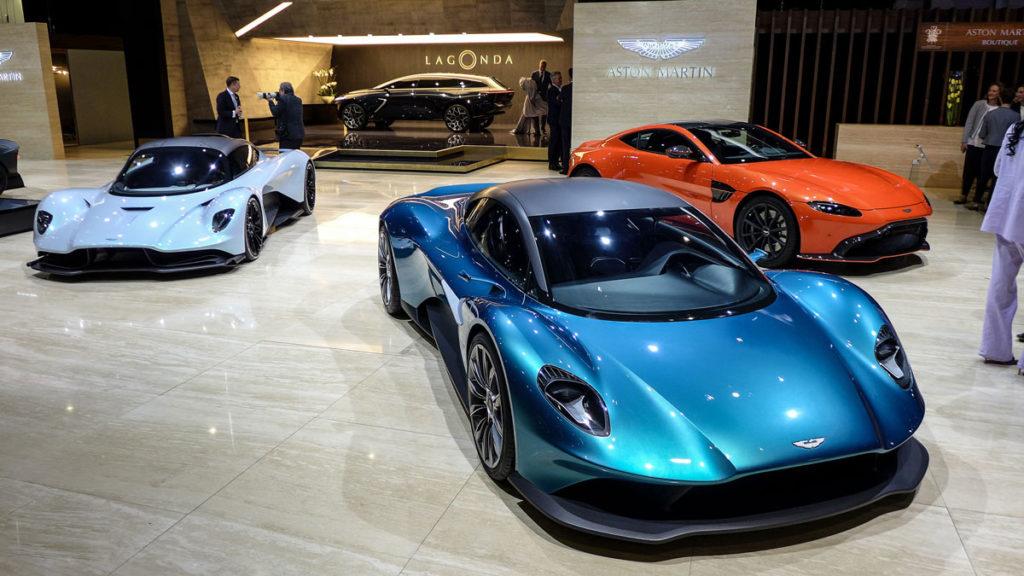 » Aston Martin AM-RB 003 et Vanquish Vision Concept