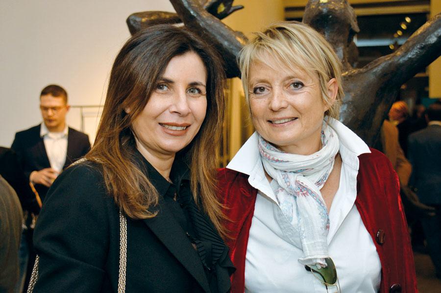 Mouna Bensaid et Anne Jaeckin