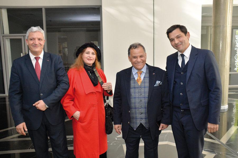 Abdelazizi Idrissi, Latifa Tijani, Mehdi Qotbi et Fihr Kettani •