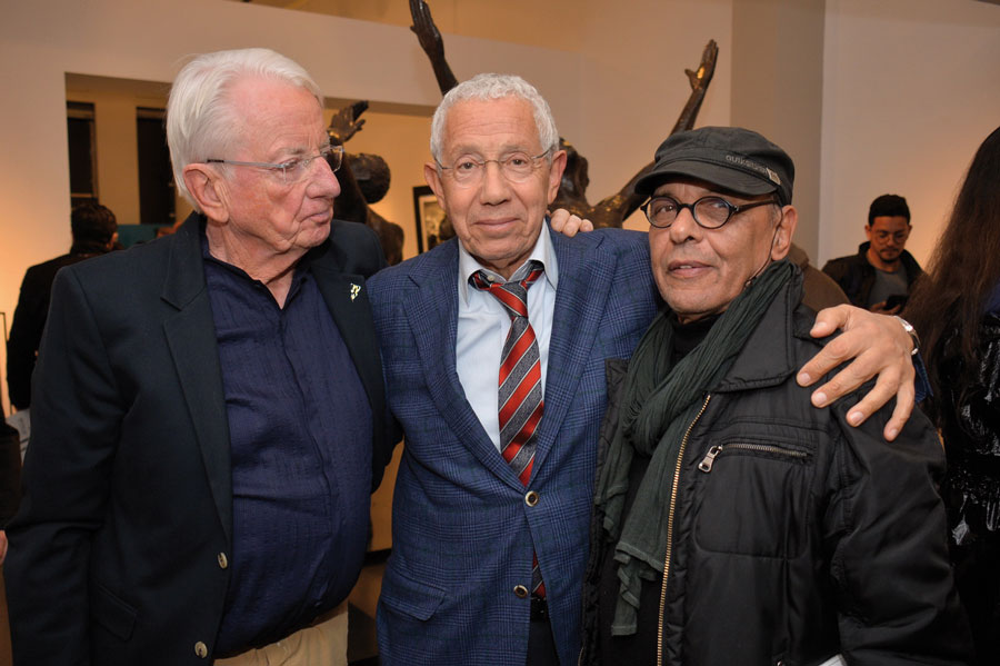 Just Jaeckin, Noureddine Ayouche et Abdellah Hariri