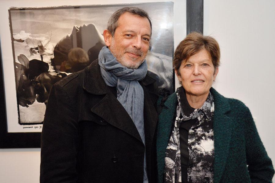 M. Sefrioui et Christine Alaoui