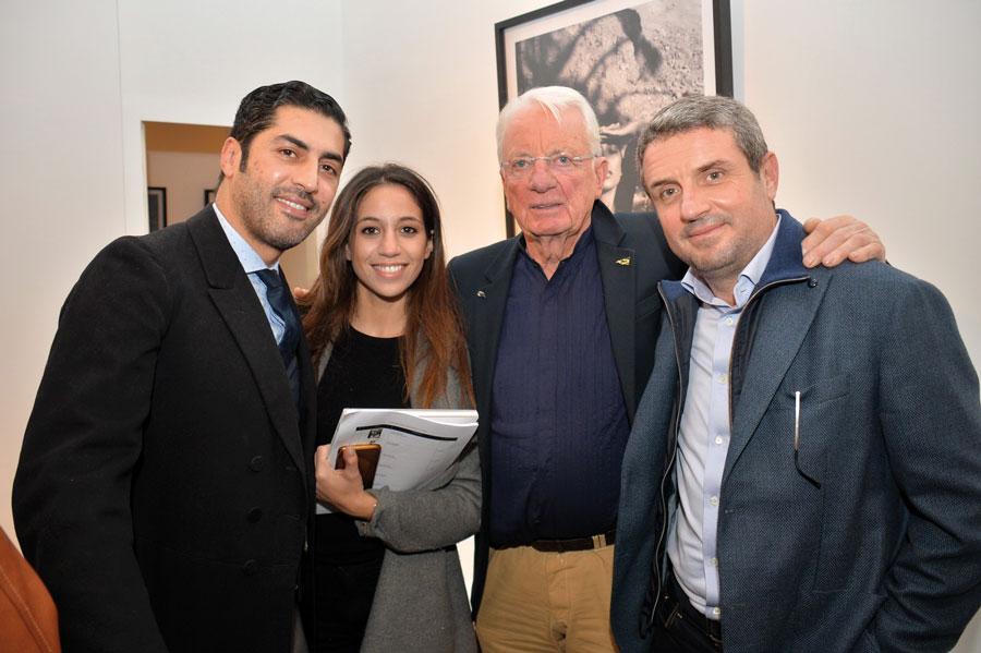 M. Mounim, Selma Naguib, Just Jaeckin et M. Boutaleb