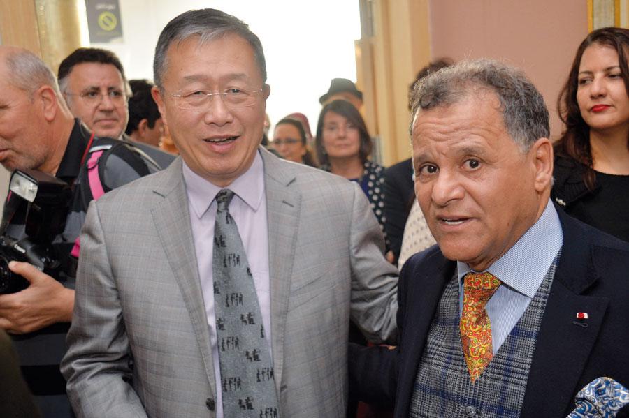Mehdi Qotbi et SEM. Li Li , Ambassadeur de Chine