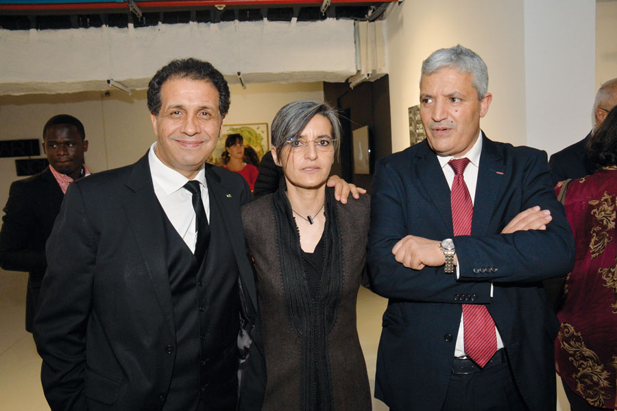 Nour-eddine Lakhmari, Narjiss Nejjar et Abdelaziz El Idrissi