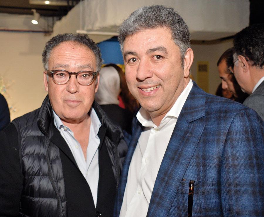 Saad Hassani et Khalid Laghrib