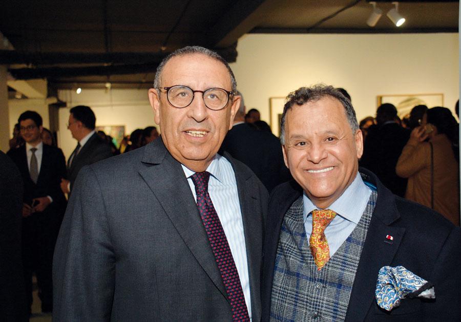 Mehdi Qotbi et Youssef El Amrani