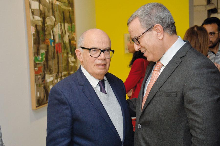 Fathallah Oualalou et Mohamed Aujar •