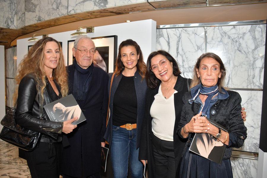 Meriem Sebti, M. et Mme Jaafar Sebti, Ghalia Benani et Monique Laghrich