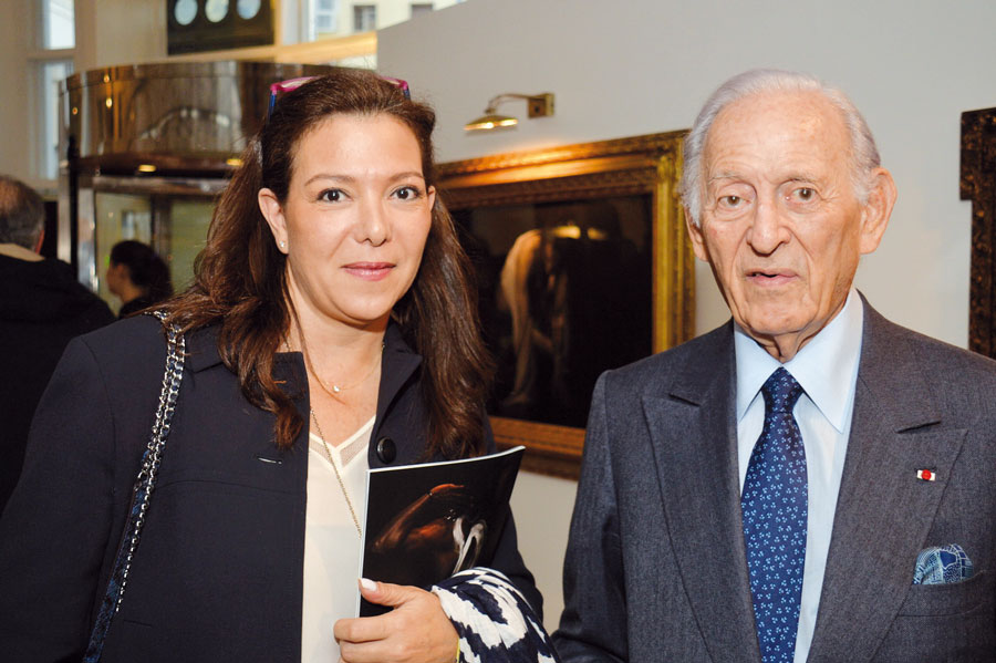 Neila Tazi et Othman Benjelloun