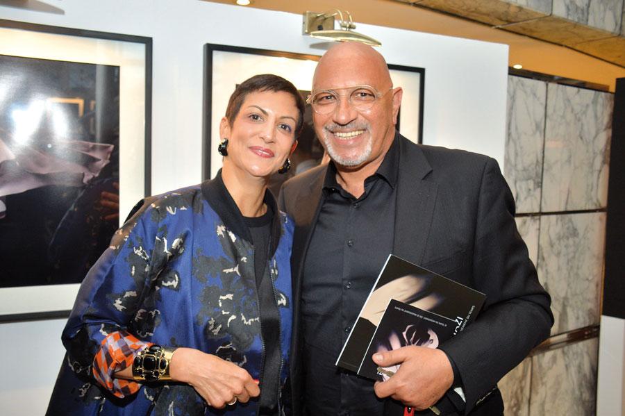 khadija Slaoui et Karim Benjelloun