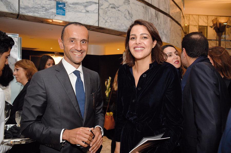 Hicham Naciri et Zineb Sliman