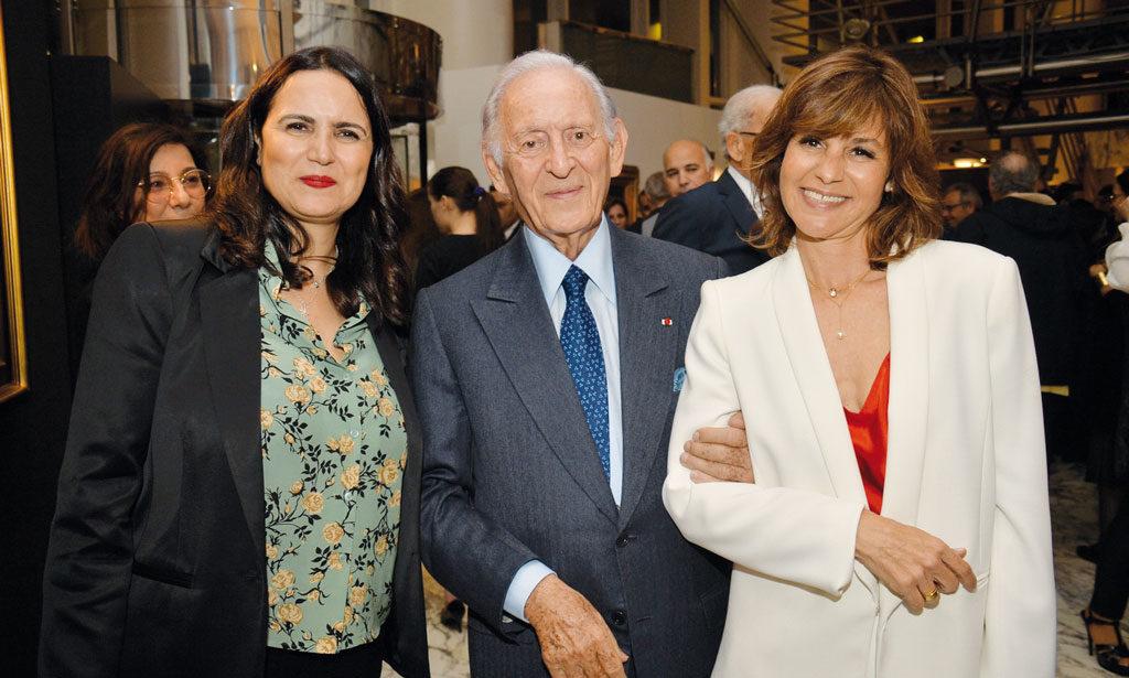 Nadia Echcherki, Othman Benjelloun et Misha Tazi •