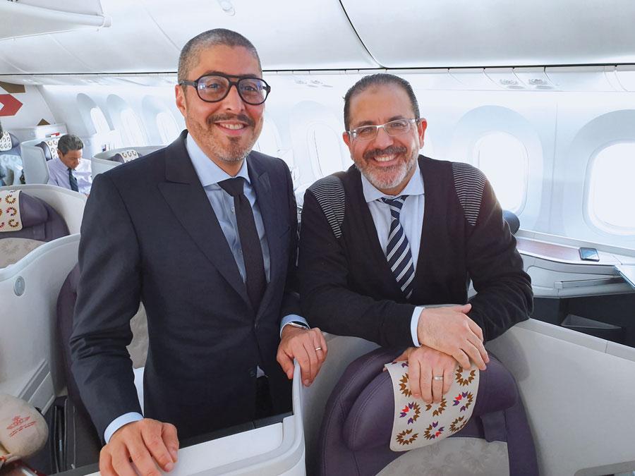 Adel El Fakir et Zouheir Mohamed El Oufir