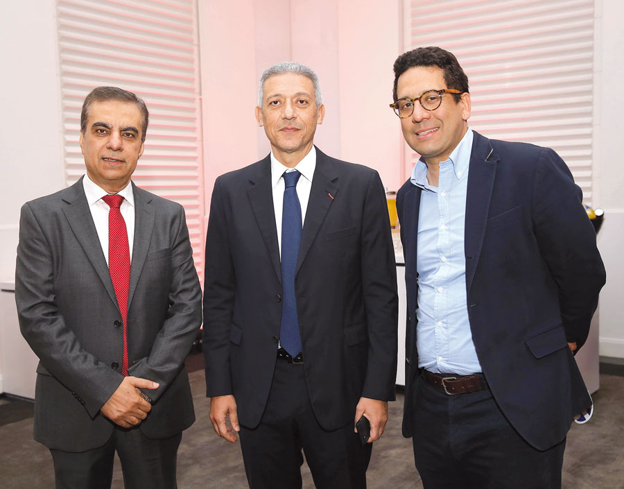 Adel Ali, Mohamed Bensalah et Rafik Lahlou