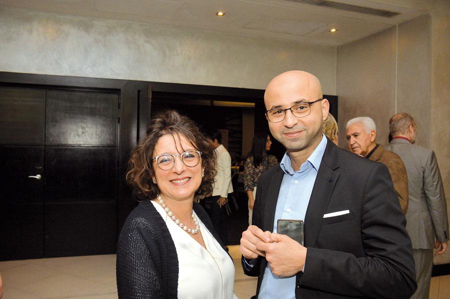 Morchid Chettat et Saloua Benmehrez •