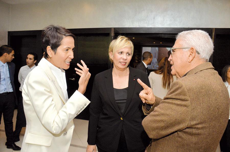 Myriam Tarik, Nezha Hayat et Abdellatif Guerraoui •