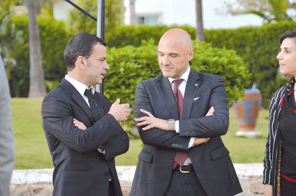 Driss Marrakchi et Francesco Monaco