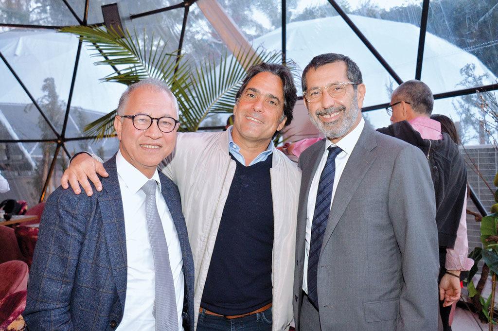 Fouad Akesbi, Abdellah Marrakchi et Faïçal Mekouar