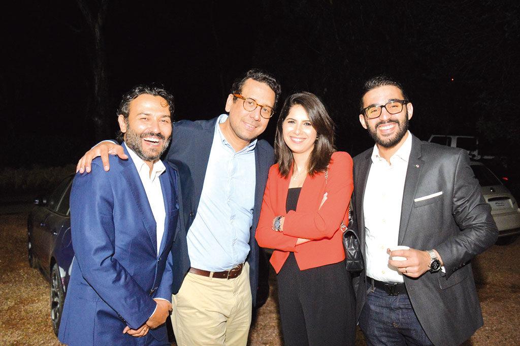 Hicham Benjelloun, Rafik Lahlou, Kheira Deffali et Youssef Bouhaddioui