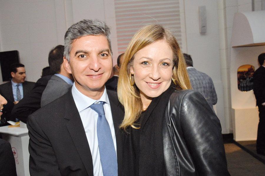 Hakim Belmaachi et Dounia Benyahia