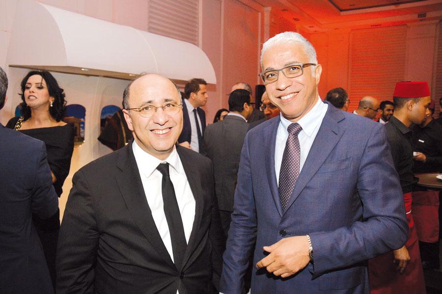 Hassan Boubrik et Youssef Latif