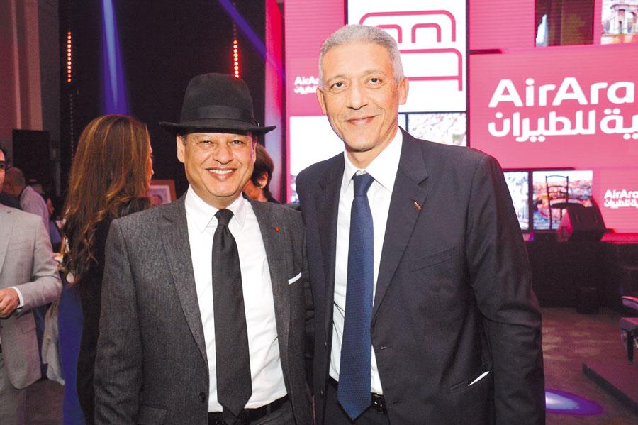 Kamal Rahal et Mohamed Hassan Bensalah