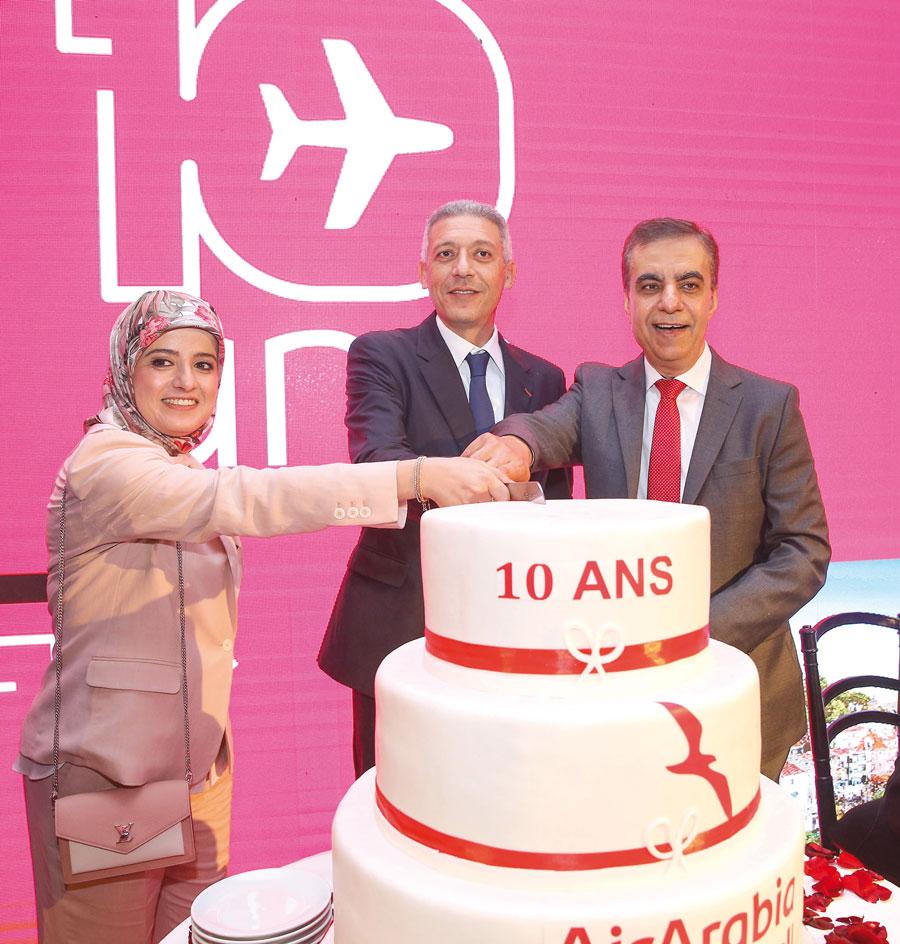 Laila Mechbal, Mohamed Hassan Bensalah et Adel Ali
