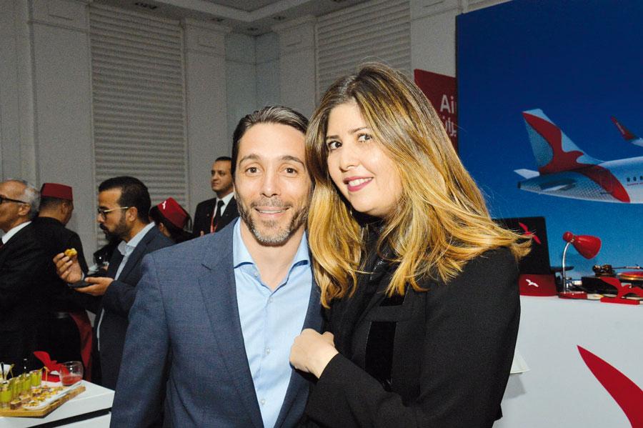 Réda Faceh et Douaa Benyahia