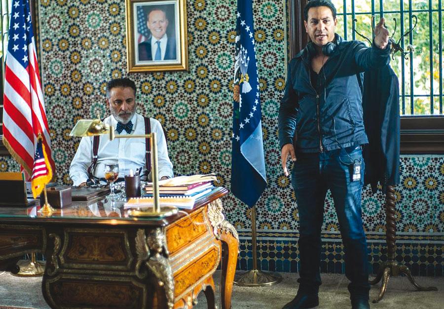 Une scène du film avec la star Andy Garcia.