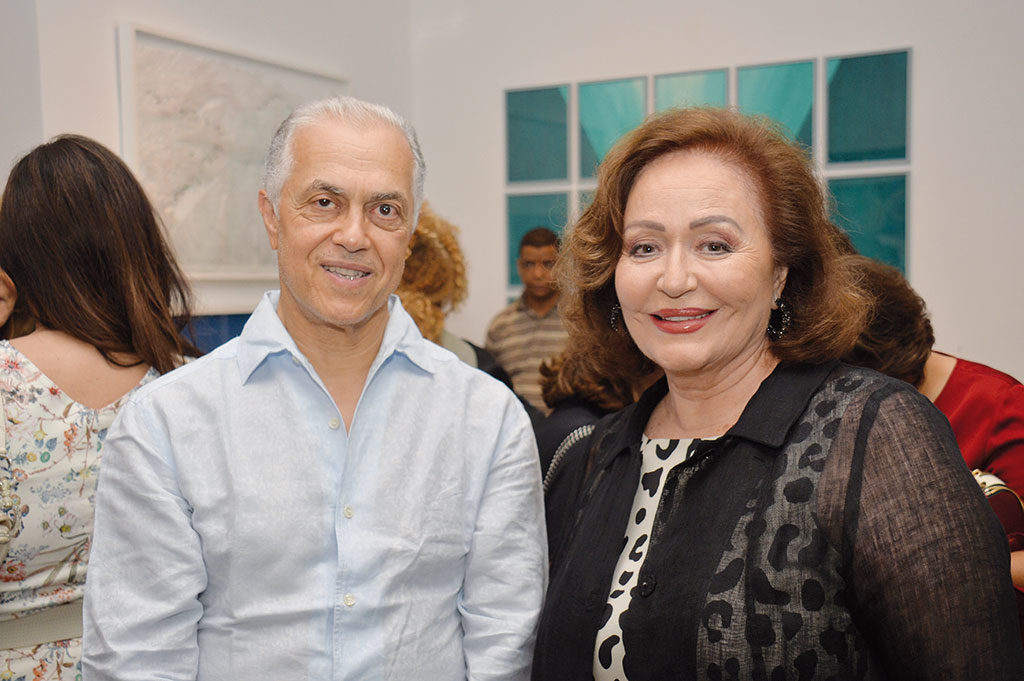 Abderrahim Saher et Khadija Sijelmassi