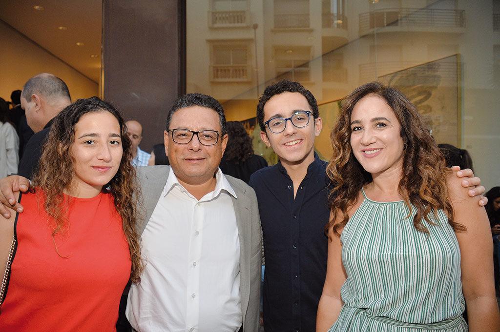 Ghalia Lahlou, Moncef Lahlou, Ismail Lahlou, Yasmine Idrissi Lahlou