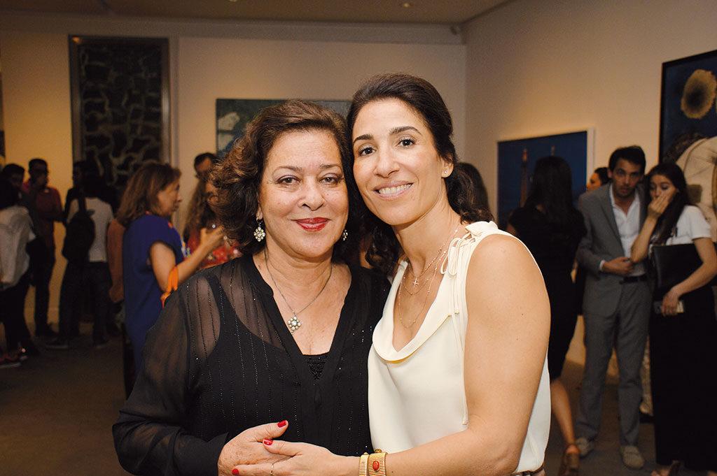 Aicha Amor et Nadia Amor