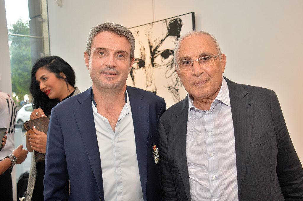 Simohamed Boutaleb et Hamid Kadiri