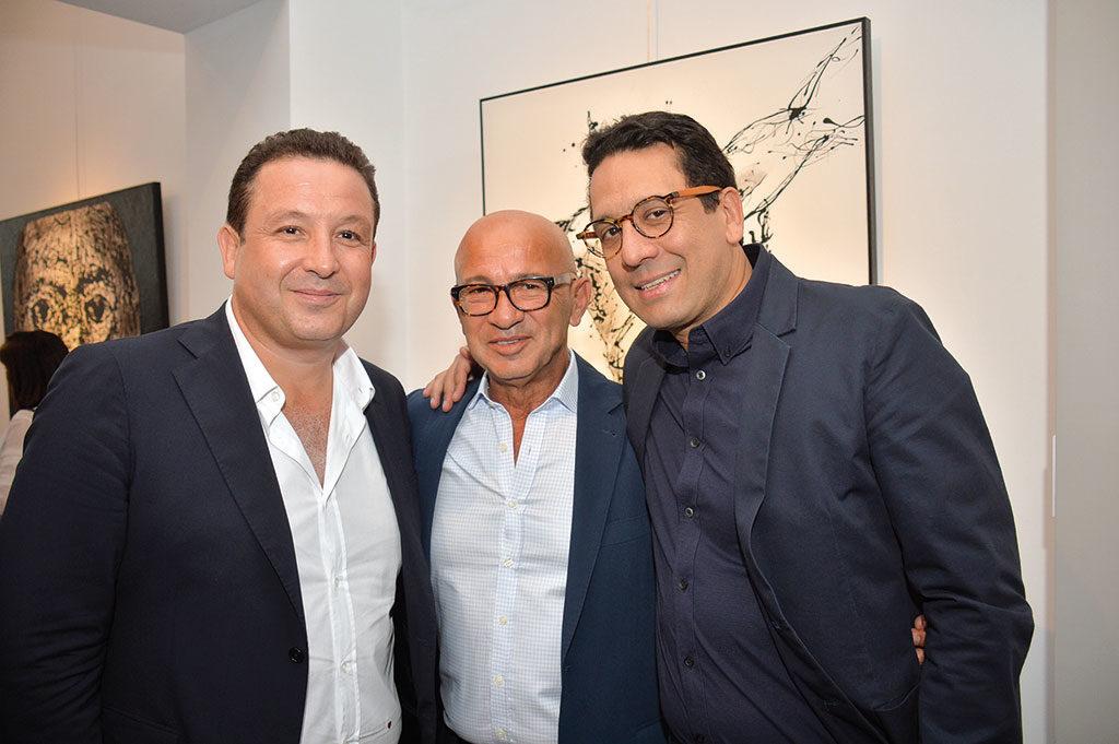 Driss Chraïbi, Mounir Bennis et Rafik Lahlou