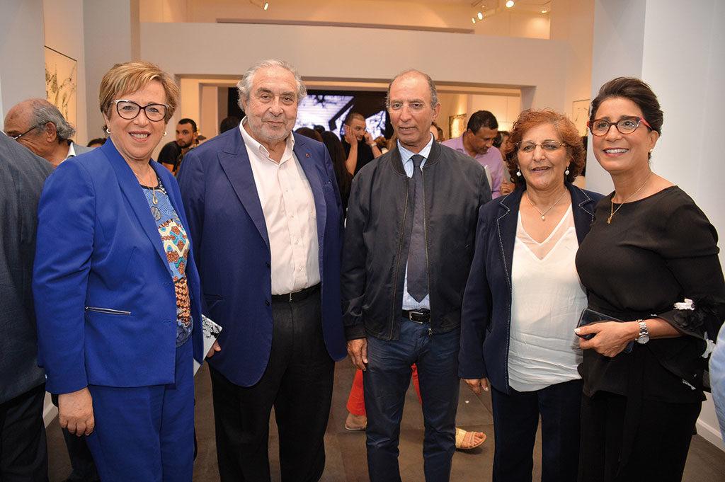 Nouzha Skalli, Serge Berdugo, Mohamed Hassad et Rachida Tahri