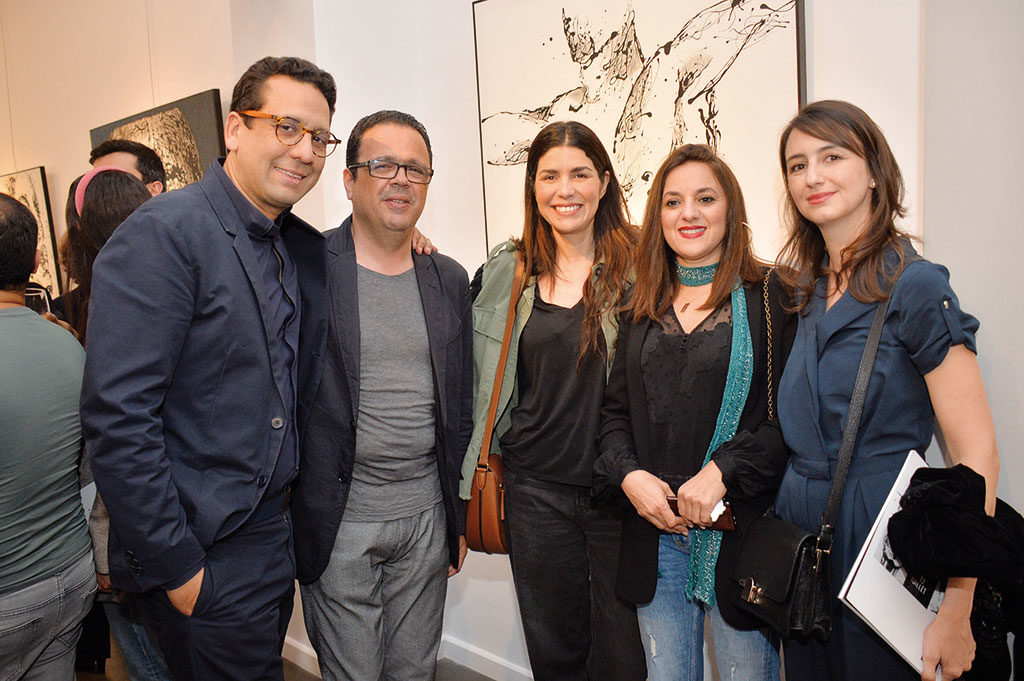 Rafik Lahlou, Elmekki Lahlou, Siham Tazi , Ghita Lahlou et Asmae Allali •