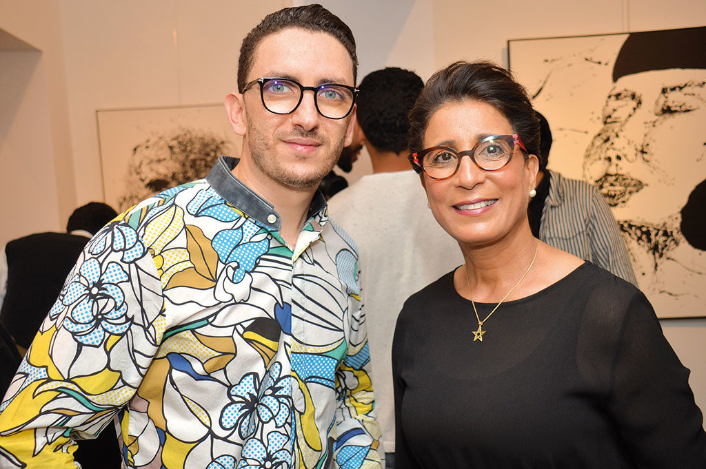 Oussama Benjelloun et Nawal El Moutawakel