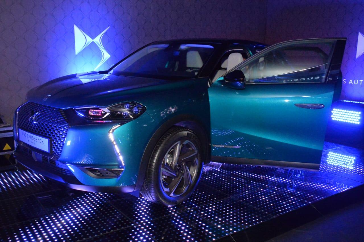 Le clou de la soirée n'était autre que le DS3 Crossback, le SUV compact premium de la marque.