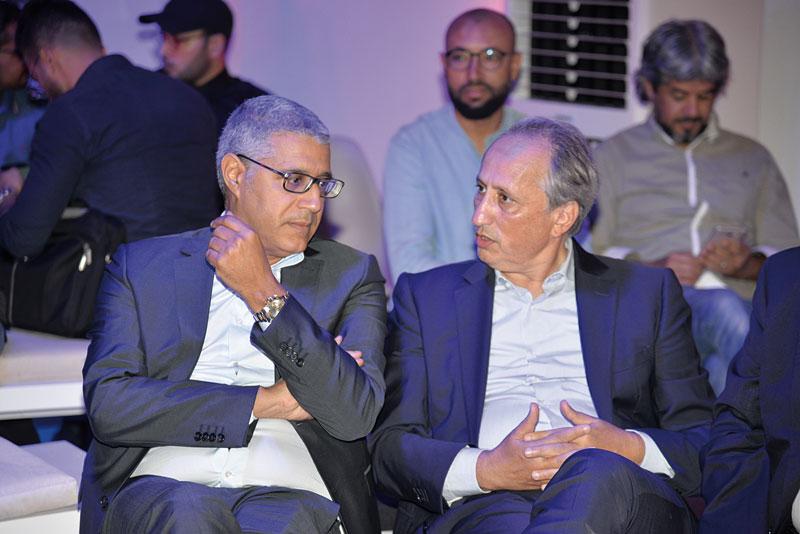 Sghir Bougrine en compagnie de Hassan Berrada