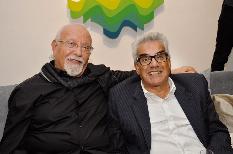 Mohamed Melehi et Youssef Berrada Sounni